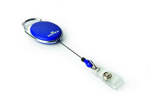 Durable Badge Reel Style dark blue