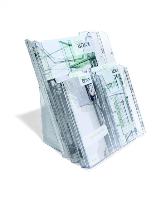 Durable Combiboxx Literature Holder 1 x A4 and 4 x 1/3 A4 861319