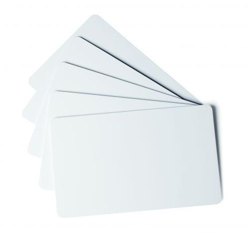Durable Duracard ID 300 Thin PVC Cards 0.5mm 891402 [Pack 100]