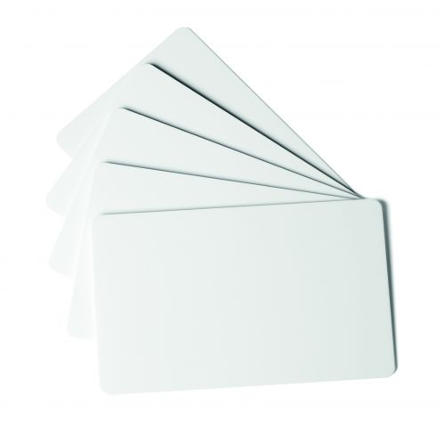Durable Duracard ID 300 Blank Cards Standard (0.76mm thick) 891502 [Pack 100]