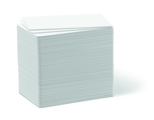 Durable Duracard Standard Blank Cards 0.76mm (Pack of 100) 891502 Visitors Badge DB80827