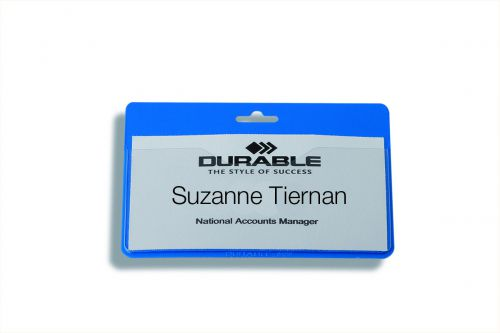 Durable Security Badge No Clip 60x90mm Pack of 50