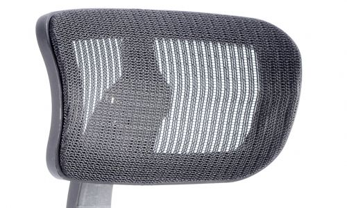 Mirage II Headrest Black Mesh Only