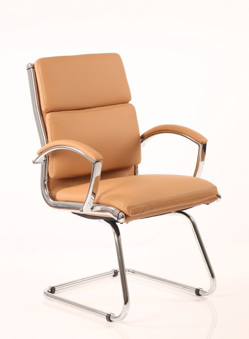 Classic Cantilever Chair Tan BR000031
