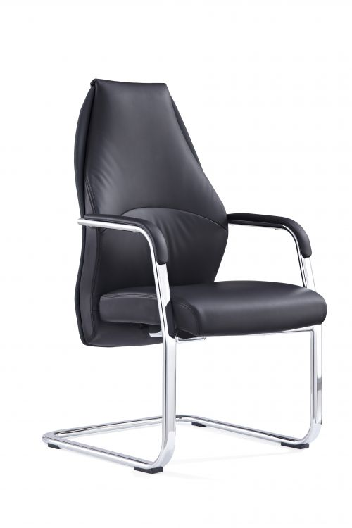 Mien Black Cantilever Chair