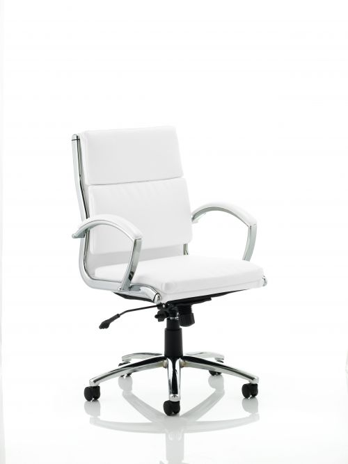 Classic Executive Chair Medium Back White EX000012