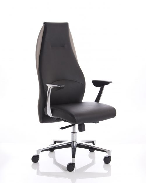 Mien Black and Mink Executive Chair