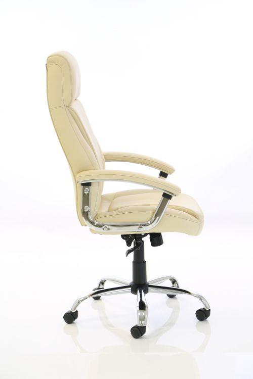 Penza Executive Cream Leather Chair