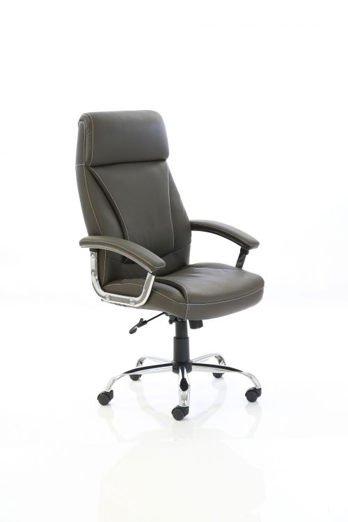 Penza Executive Brown Leather Chair