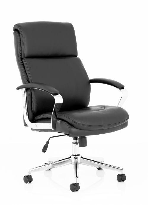 Tunis Black Bonded Leather Exec Chair EX000210