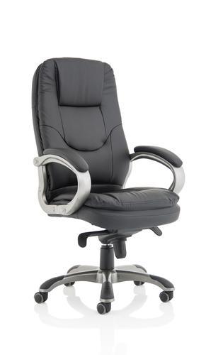 Oscar Executive Chair Black Leather
