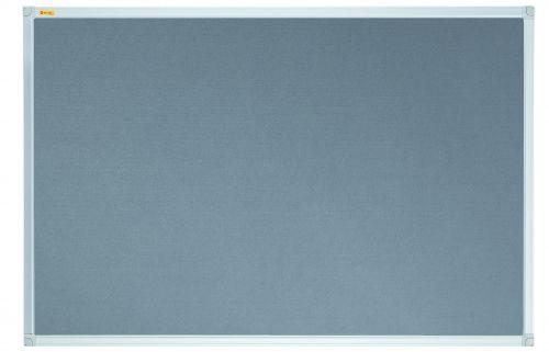 Felt Pin Board X-tra!Line® 240x120cm Grey
