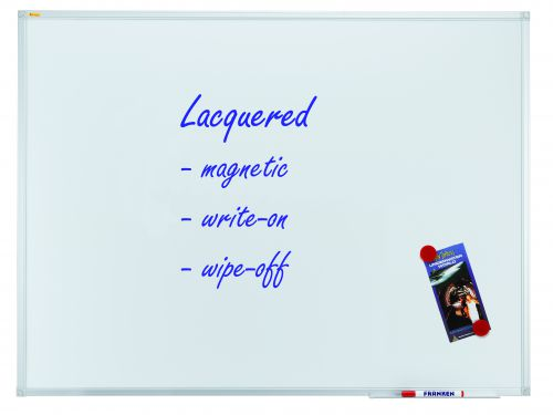 Whiteboard X-tra!Line® 120 x 120cm Lacquered Steel