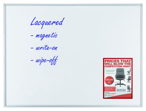 Whiteboard ECO 90 x 60cm Lacquered Steel