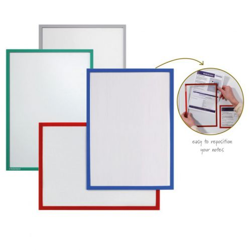 Document Holder X-tra!Line® DIN A3 Magnetic Red 1 Piece