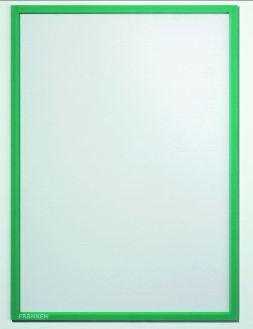 Document holder X-tra!Line® DIN A4 Magnetic Green 1 Piece
