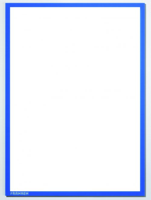 Document holder X-tra!Line® DIN A4 Magnetic Blue 1 Piece