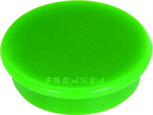Tacking Magnet Size 13mm Adhesive Force 100g Green 10 Pieces