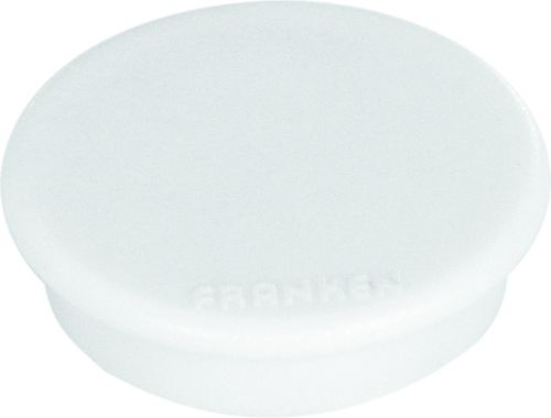 Tacking Magnet Size 24mm Adhesive Force 300g White 10 Pieces