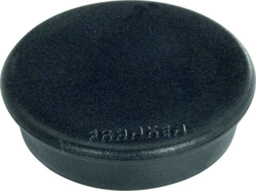 Tacking Magnet Size 24mm Adhesive Force 300g Black 10 Pieces