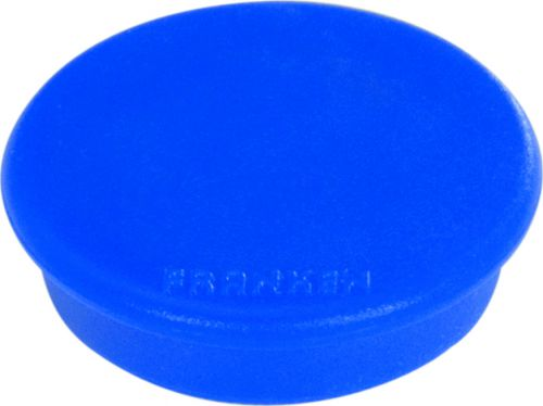 Tacking Magnet Size 32mm Adhesive Force: 800g Blue 10 Pieces