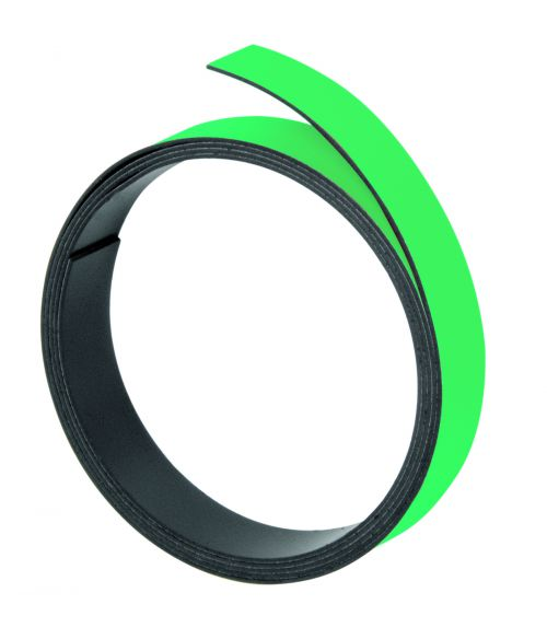 Magnetic Strips 100cm x 10mm Thickness 1mm Green