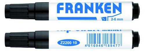FlipchartMarker Line Width 2 – 6mm Black 1 Piece