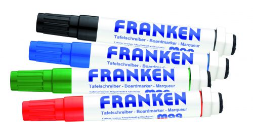 CombiMarkers MagWrite Line Width 1 - 3mm 1 Each In Red Blue Green Black