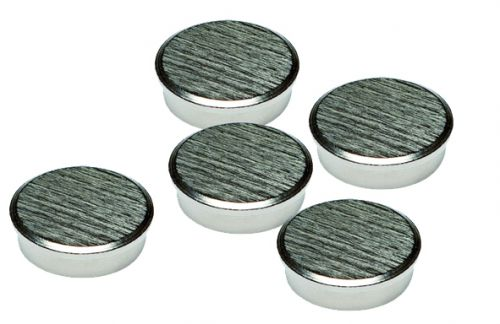 16mm Chrome Magnets Pack 5