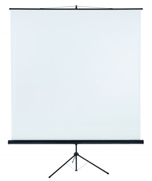 Tripod Projection Screen X-tra!Line® Format 1:1 Screen Size 220 x 220cm
