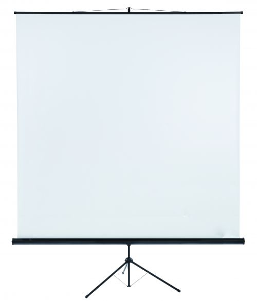Tripod Projection Screen X-tra!Line® Format 1:1 Screen Size 240 x 240cm