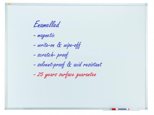 Whiteboard X-tra!Line® 100 x 200cm Enamel