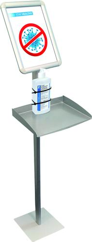 Information Display Stand with Tray, A4 format