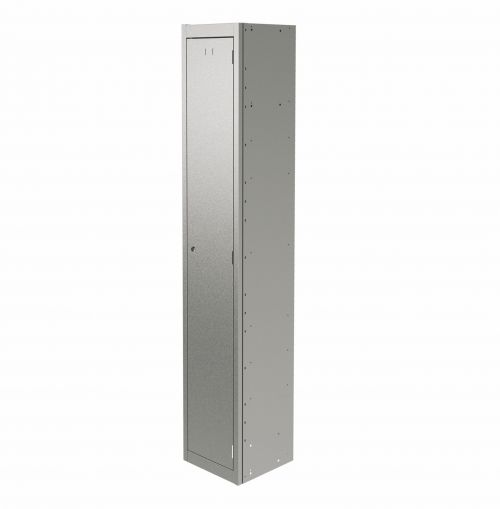 Graviti Plus Contract Locker 1 Door 1800mm High 450 Deep Goose Grey