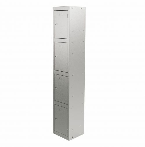 Graviti Plus Contract Locker 4 Door 1800mm High 450 Deep Goose Grey