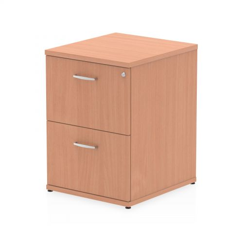 Impulse Filing Cabinet 2 Drawer Beech