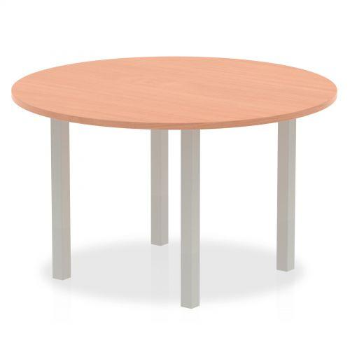 Impulse 1200 round Meeting Table Beech