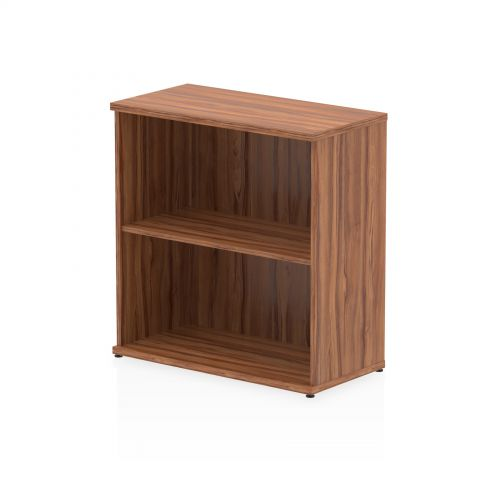 Impulse 800 Bookcase Walnut