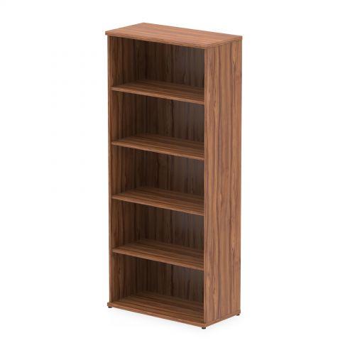 Impulse 2000 Bookcase Walnut