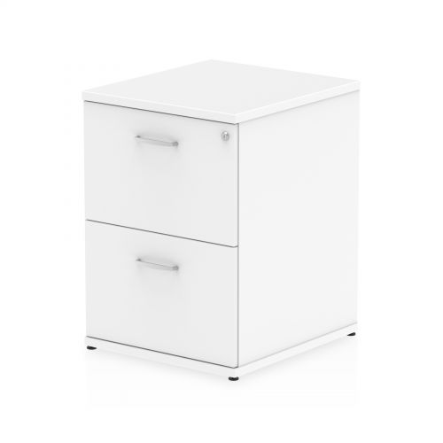 Impulse 2 Drawer Filing Cabinet White I000192