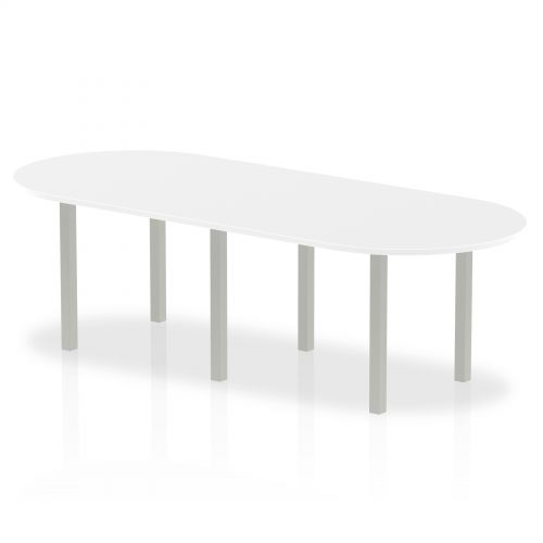 Impulse 2400 Boardroom Table White