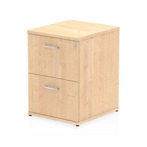 Impulse Filing Cabinet 2 Drawer Maple