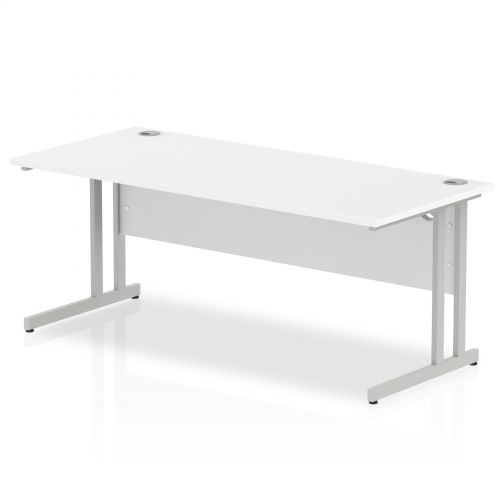 Impulse Cantilever 1800 Rectangle Desk White