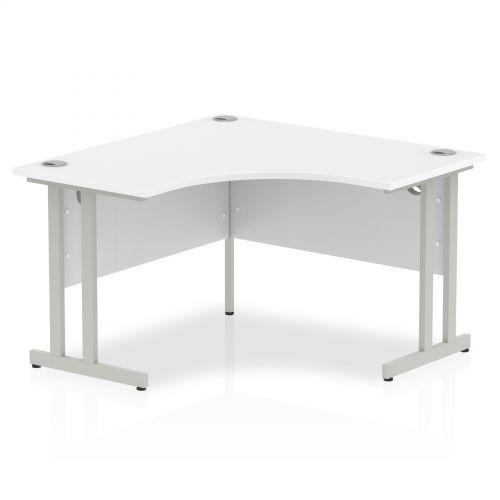 Impulse Cantilever 1200 Call Centre Desk White