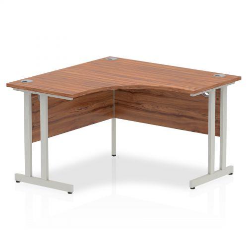 Impulse Cantilever 1200 Call Centre Desk Walnut
