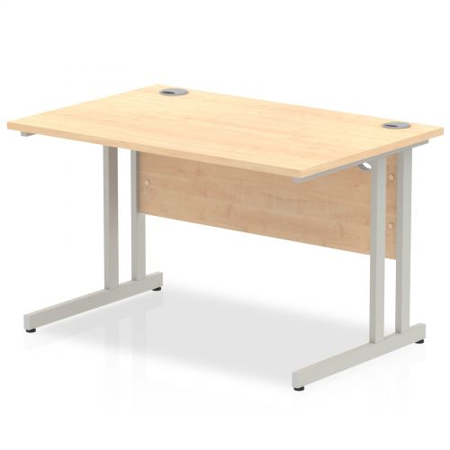 Impulse Cantilever 1200 Rectangle Desk Maple