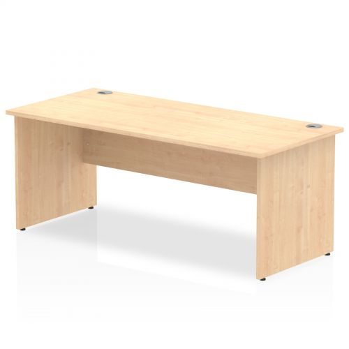 Impulse Panel End 1800 Rectangle Desk Maple