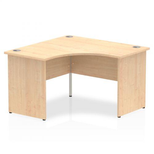 Trexus Call Centre Desk Panel End 1200x1200mm Maple Ref I000450