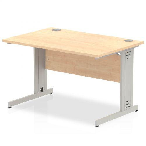 Impulse Cable Managed 1200 Rectangle Desk Maple