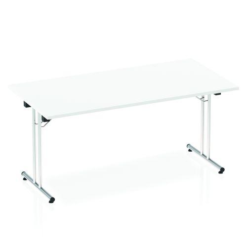 Impulse Folding Rectangular Table 1600 White